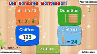 Application screenshot: 5 Les Nombres Montessori - Apprendre les bonnes bases en maths [itunes]