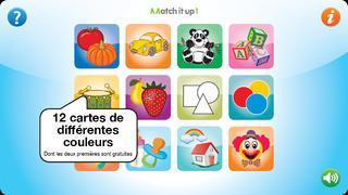Application screenshot: 2 Match it up 1 [itunes]
