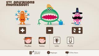 Application screenshot: 1 1res Opérations Montessori [itunes]