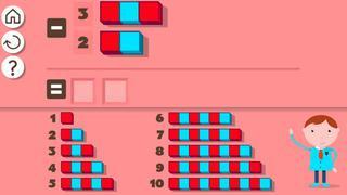 Application screenshot: 2 1res Opérations Montessori [itunes]