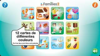 Application screenshot: 2 Families 2 [itunes]