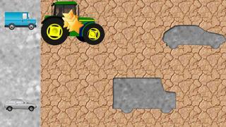 Application screenshot: 2 Puzzles des véhicules pour les tout-petits et les enfants GRATUIT - jeux pour enfants - puzzles pour enfants - voitures et camions [itunes]