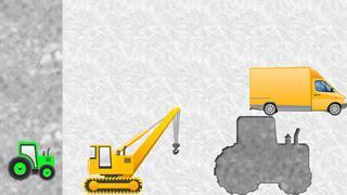 Application screenshot: 3 Puzzles des véhicules pour les tout-petits et les enfants GRATUIT - jeux pour enfants - puzzles pour enfants - voitures et camions [itunes]