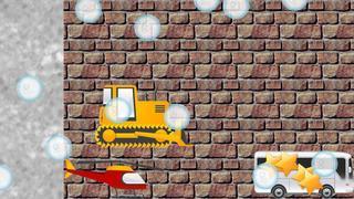 Application screenshot: 4 Puzzles des véhicules pour les tout-petits et les enfants GRATUIT - jeux pour enfants - puzzles pour enfants - voitures et camions [itunes]
