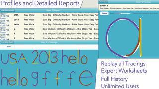 Application screenshot: 5 J'écris en script - apprendre à écrire les caractères d'imprimerie [itunes]