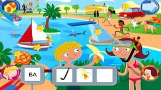 Application screenshot: 2 Jeux pour lire avec Sami et Julie Lite, pour iPad [itunes]