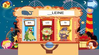 Application screenshot: 4 Jeux pour lire avec Sami et Julie Lite, pour iPad [itunes]