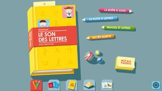 Application screenshot: 1 Le Son des Lettres Montessori HD [itunes]