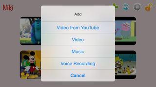 Application screenshot: 2 Niki Play [itunes]