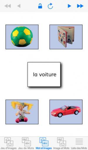 Application screenshot: 1 Mots Spéciaux [itunes]