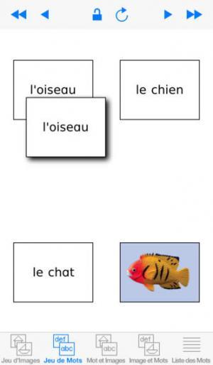 Application screenshot: 2 Mots Spéciaux [itunes]