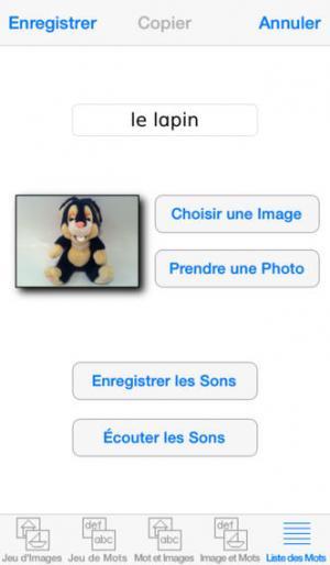 Application screenshot: 4 Mots Spéciaux [itunes]