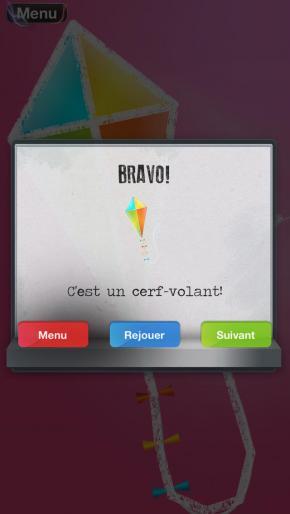 Application screenshot: 4 Relie Les Points: Les Objets - Freemium [itunes]