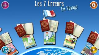 Application screenshot: 1 Les Sept Erreurs : En Voyage ! - Freemium [itunes]