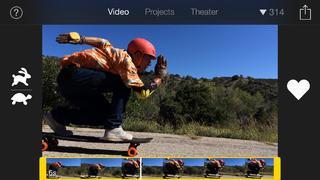 Application screenshot: 1 iMovie [itunes]