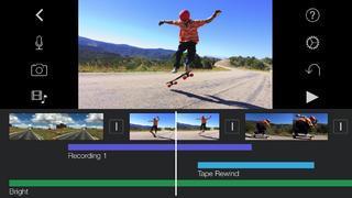 Application screenshot: 2 iMovie [itunes]
