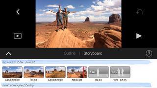 Application screenshot: 4 iMovie [itunes]