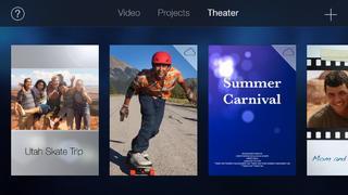 Application screenshot: 5 iMovie [itunes]