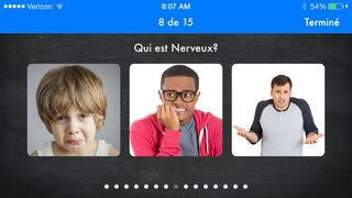 Application screenshot: 3 Découvrons les émotions : émotions et habiletés sociales en éducation spécialisée, thérapie du langage et orthophonie [itunes]