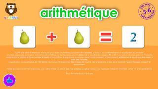 Application screenshot: 1 Arithmétique pour les enfants d'âge préscolaire [itunes]