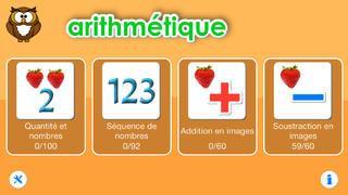 Application screenshot: 2 Arithmétique pour les enfants d'âge préscolaire [itunes]