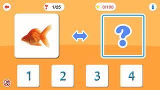 Application screenshot: 3 Arithmétique pour les enfants d'âge préscolaire [itunes]