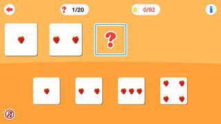 Application screenshot: 4 Arithmétique pour les enfants d'âge préscolaire [itunes]