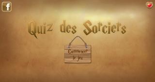 Application screenshot: 1 Quiz Des Sorciers [itunes]