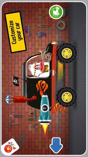 Application screenshot: 1 Pepi Ride [itunes]