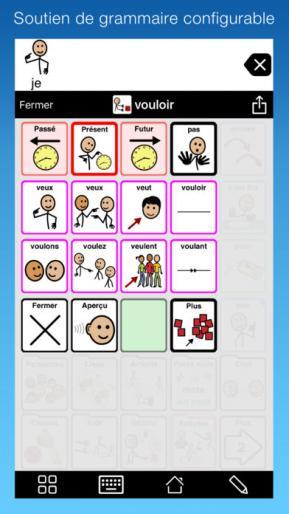Application screenshot: 3 Proloquo2Go [itunes]