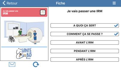 Application screenshot: 4 SantéBD [itunes]