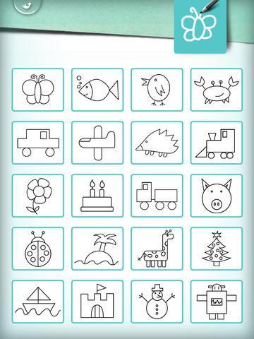 apprendre dessiner en s 39 amusant un jeu de dessin et de coloriage pour les enfants version. Black Bedroom Furniture Sets. Home Design Ideas