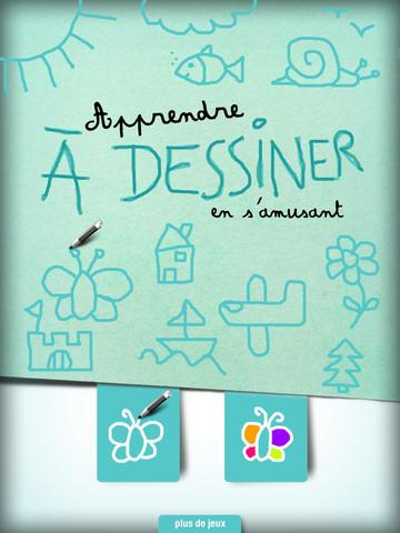 apprendre dessiner en s 39 amusant un jeu de dessin et de. Black Bedroom Furniture Sets. Home Design Ideas