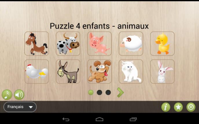 AnimauxApplications 4 Autisme Puzzle Puzzle Enfants 4 AnimauxApplications Enfants TlFcK1J