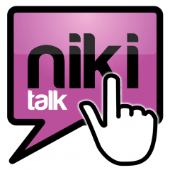 Application logo: Niki Talk [itunes]