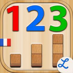 Application logo: Les Nombres Montessori - Apprendre les bonnes bases en maths [itunes]