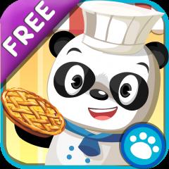 Application logo: Dr Panda : Restaurant – Jeu de cuisine pour enfants – Version Gratuite [itunes]