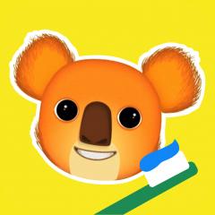 Application logo: Brosse-toi les dents avec Ben le Koala [itunes]