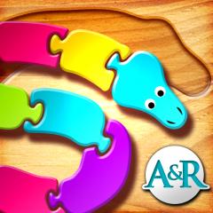 Application logo: Mes premiers puzzles : les serpents [itunes]