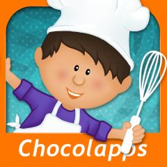 Application logo: KidECook - Recettes de desserts faciles pour enfants - Découverte [itunes]