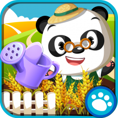 Application logo: Dr. Panda : Potager [itunes]
