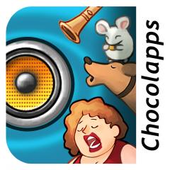 Application logo: Les Bruits de la vie - Des sons et des images - Découverte [itunes]
