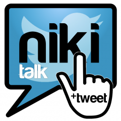 Application logo: Niki Talk + Tweet [itunes]