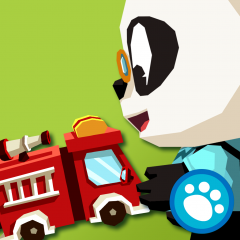 Application logo: Les Voitures de Dr. Panda [itunes]