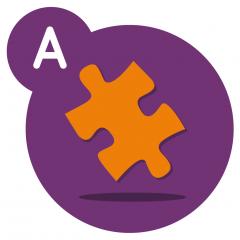 Application logo: Puzzle - Animaux - Jeu éducatif pour découvrir le puzzle [itunes]