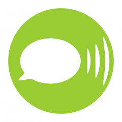 Application logo: LetMeTalk: Gratuit CAA Talker [itunes]