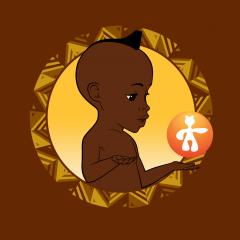 Application logo: Kirikou et les enfants extra-ordinaires [itunes]