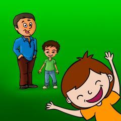 Application logo: La famille Montessori et sentiments, Aidez vos enfants à apprendre sur la famille et part toutes sortes d'émotions [itunes]