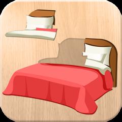 Application logo: Puzzle 4 enfants - meubles